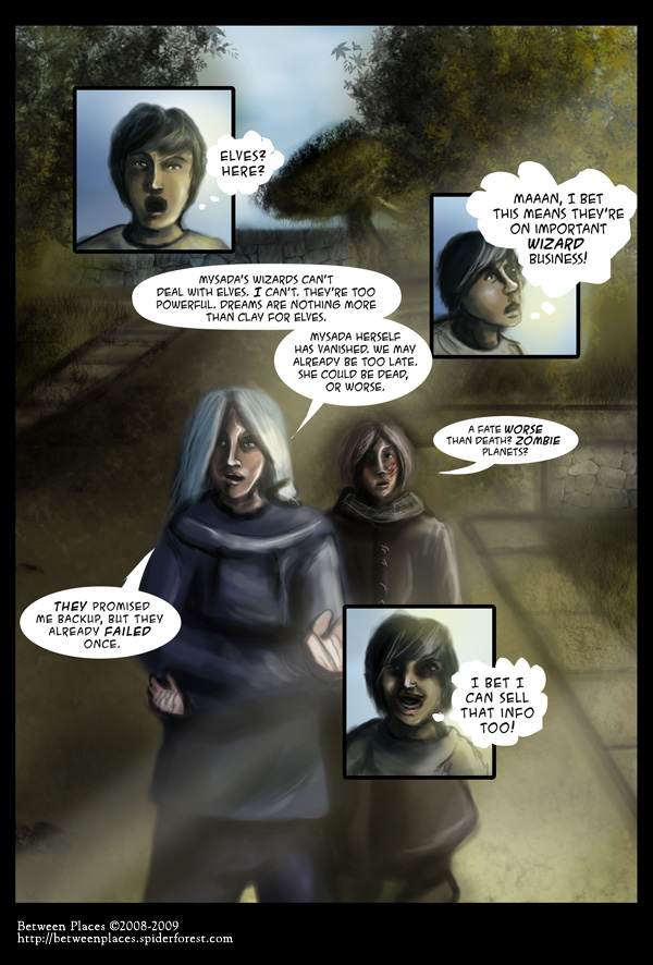 Chapter one, page seven - Moral Quandry
