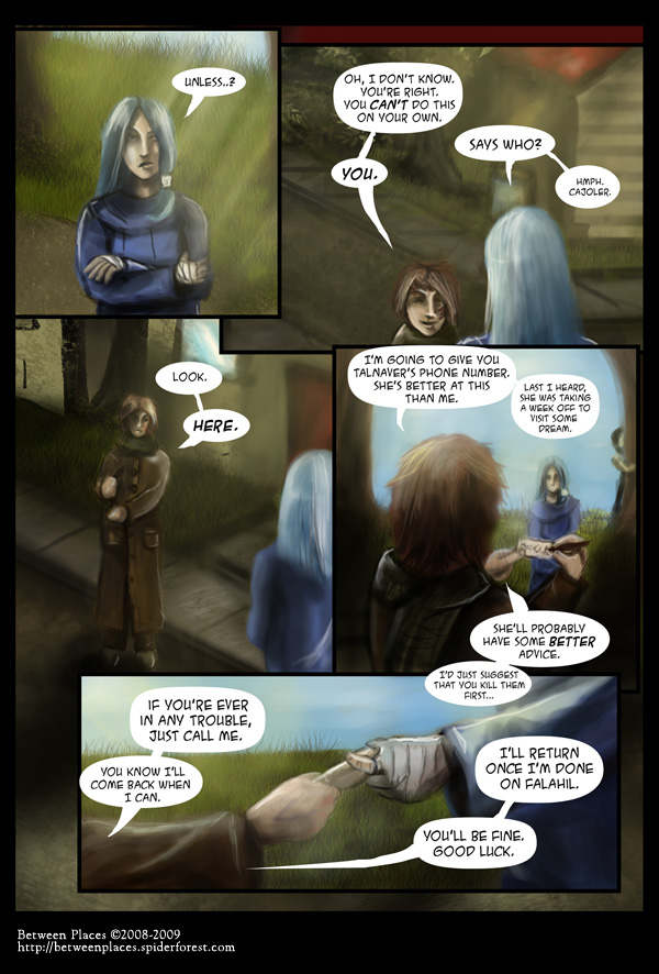 Chapte one - page nine: Talnaver