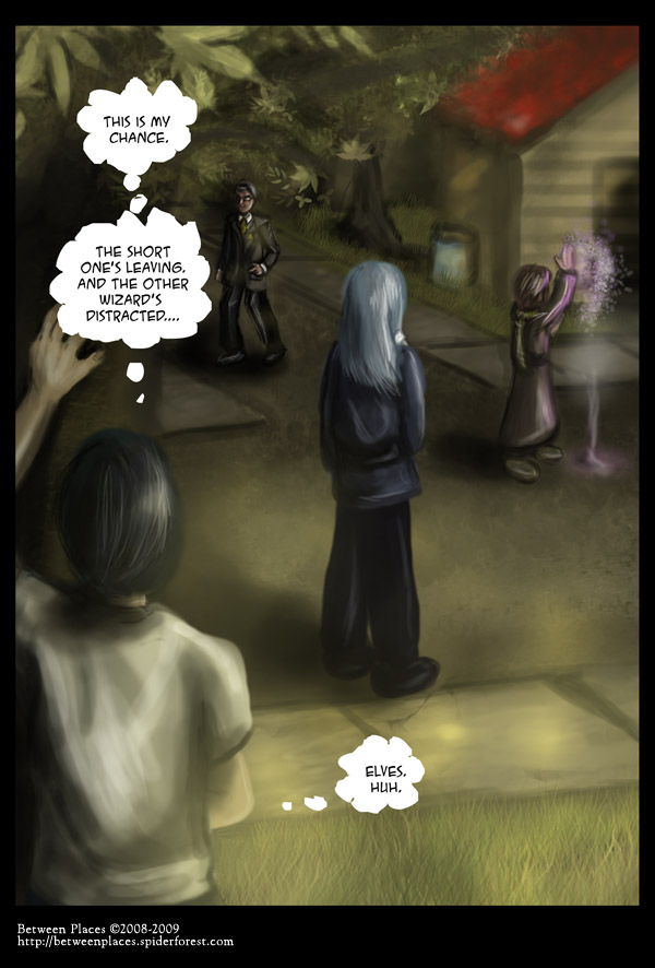 Chapter one - page ten: Distracted