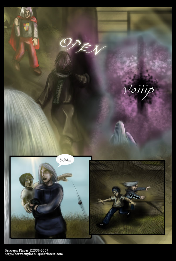 Chapter one - page eleven: Yoinked