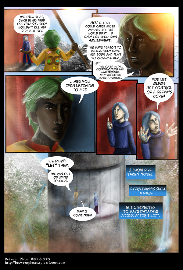 Chapter one - page eighteen - Ran Out Of Soldiers