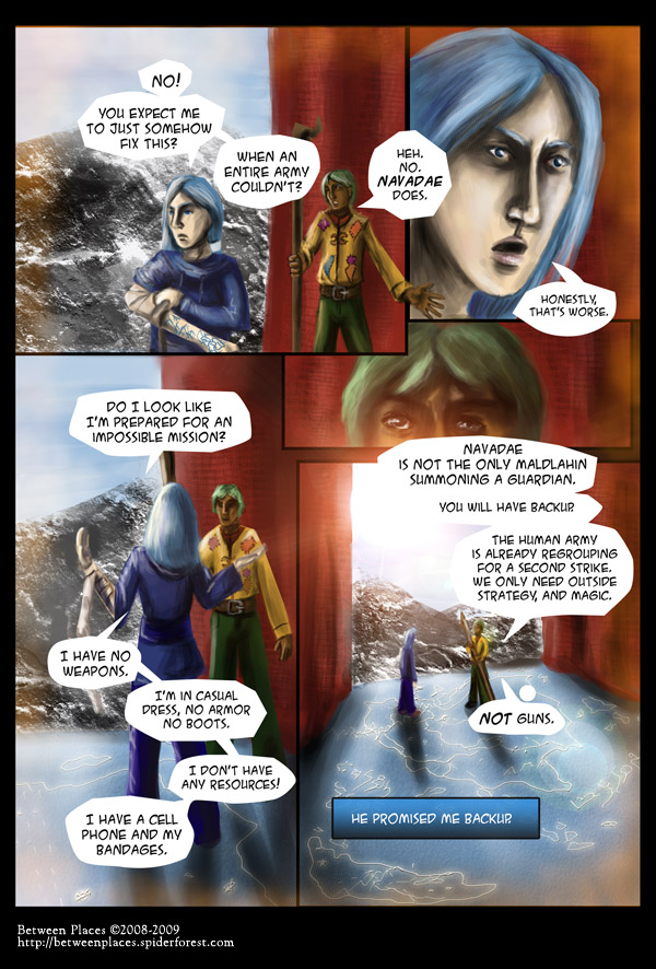 Chapter one - page nineteen - Not Prepared