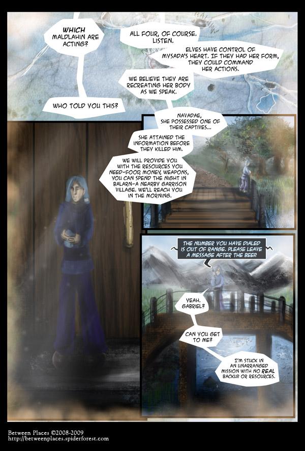 Chapter one - page twenty - All Four Maldlahin